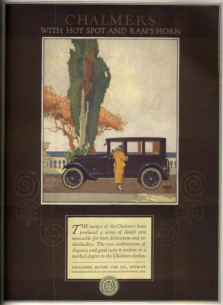 Vintage Car Advertising Gallery: Part 1
