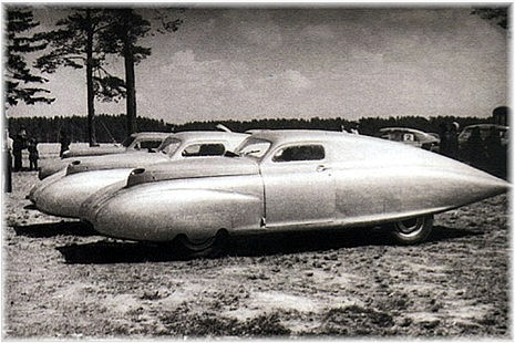 Championship Auto Racing on Three Cars During 1951 Ussr Championship