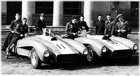 Rare Russian Race Cars