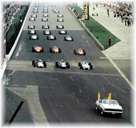 1967 indy 500 retrospective. Black Bedroom Furniture Sets. Home Design Ideas